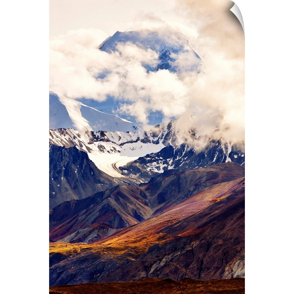 Alaska Wilderness Denali National Park and Preserve Trekking Pole Decal