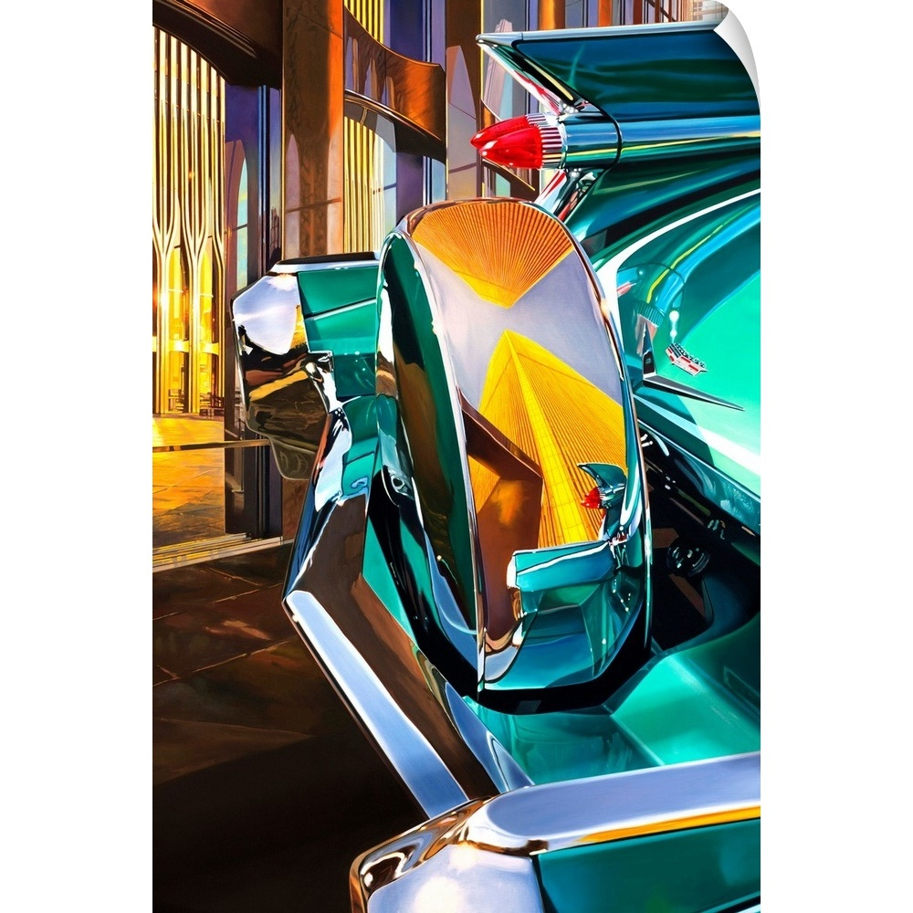 '59 Cadillac Coup DeVille Wall Decal