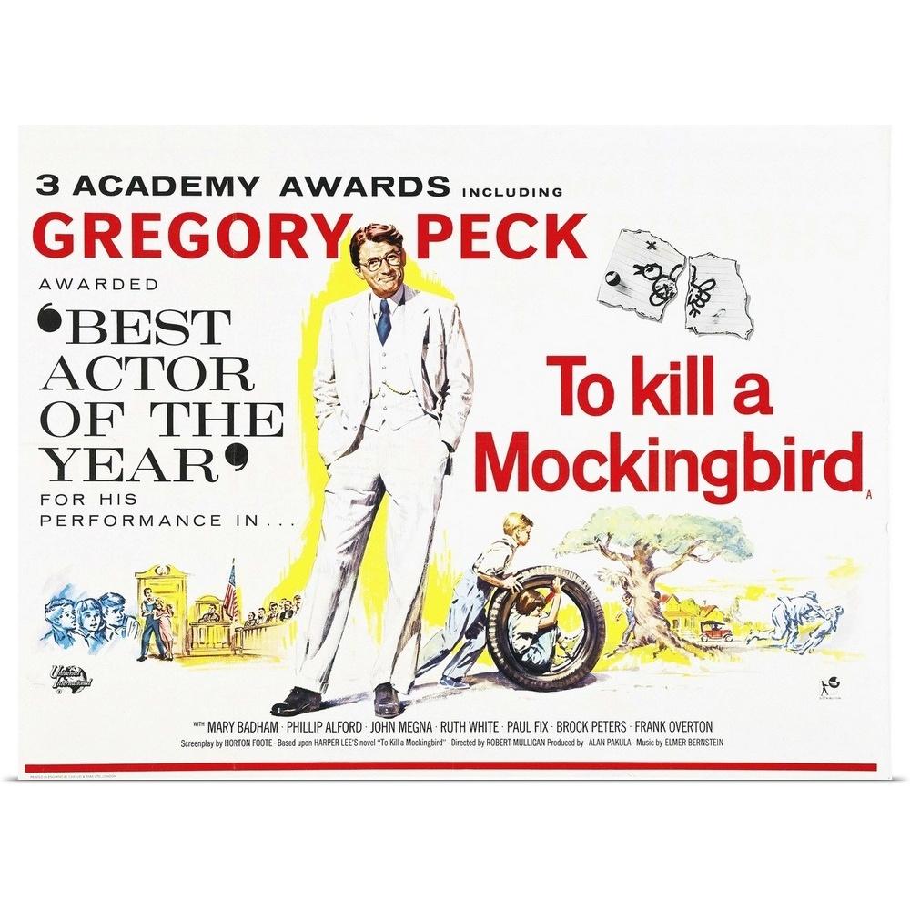 To Kill A Mockingbird Poster Print