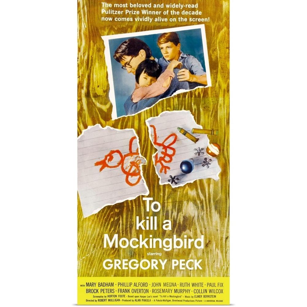 To Kill A Mockingbird (1963) Poster Print