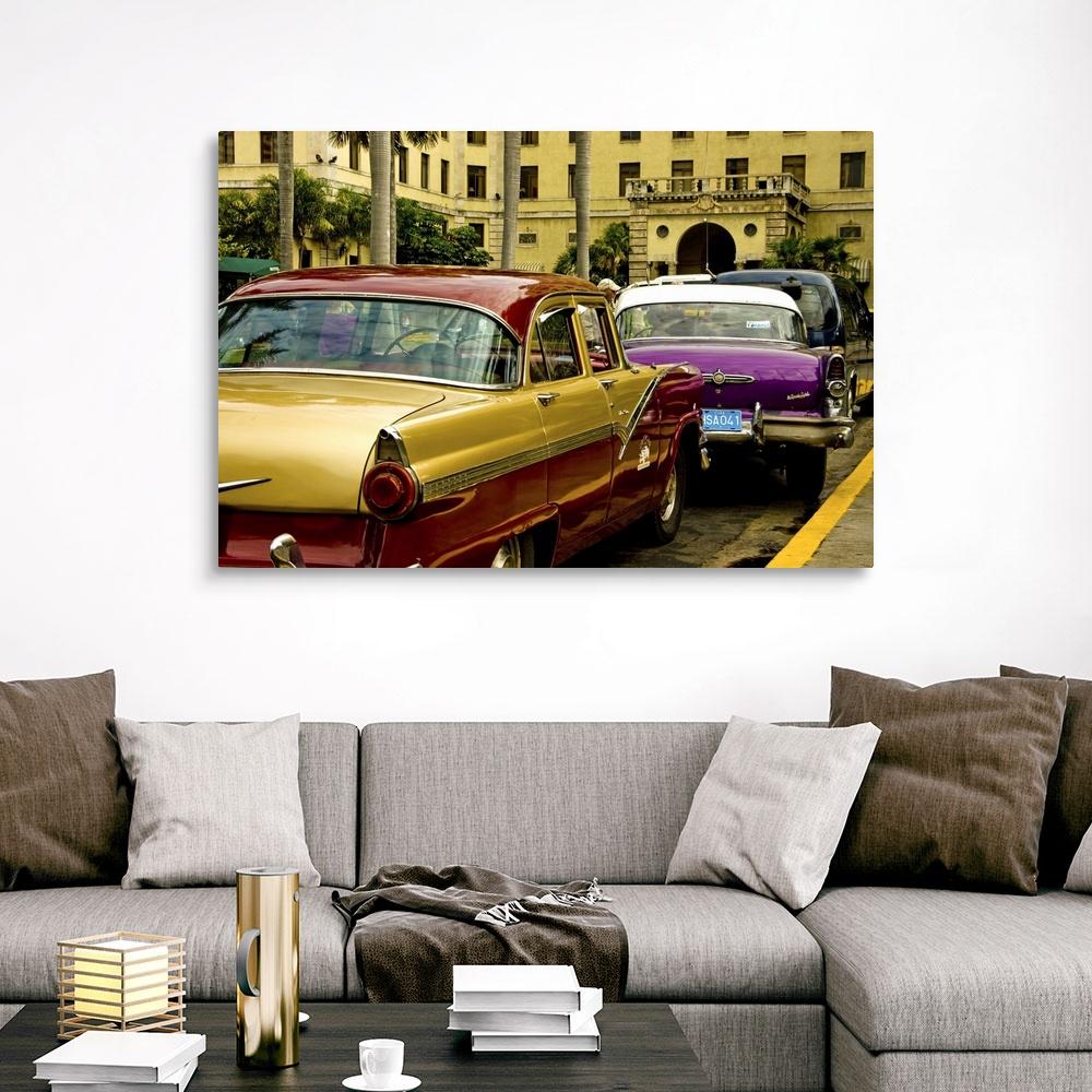 CEMSA MOTORCYCLES Travel Art Print BMW INDIAN BSA HARLEY Poster HAVANA CUBA