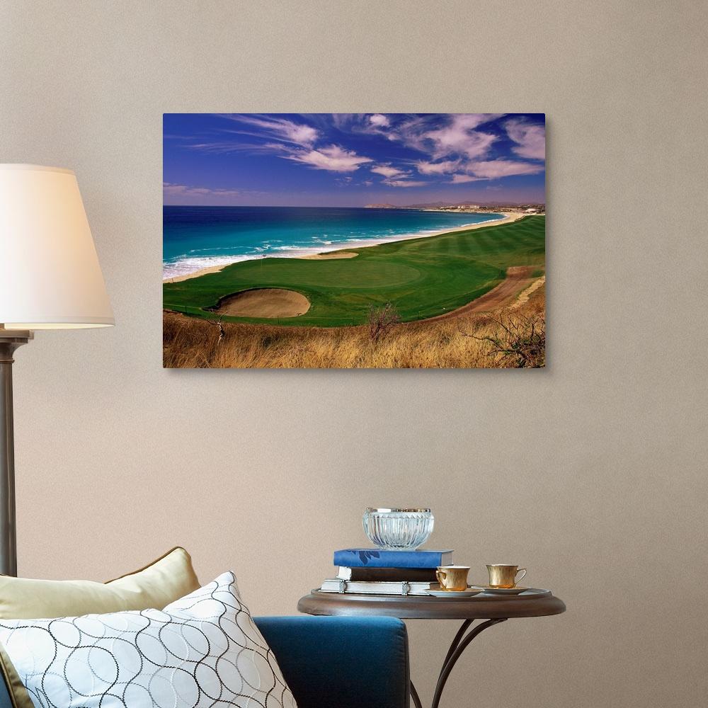 El Dorado Golf Course Cabo San Lucas Mexico Canvas Art ...