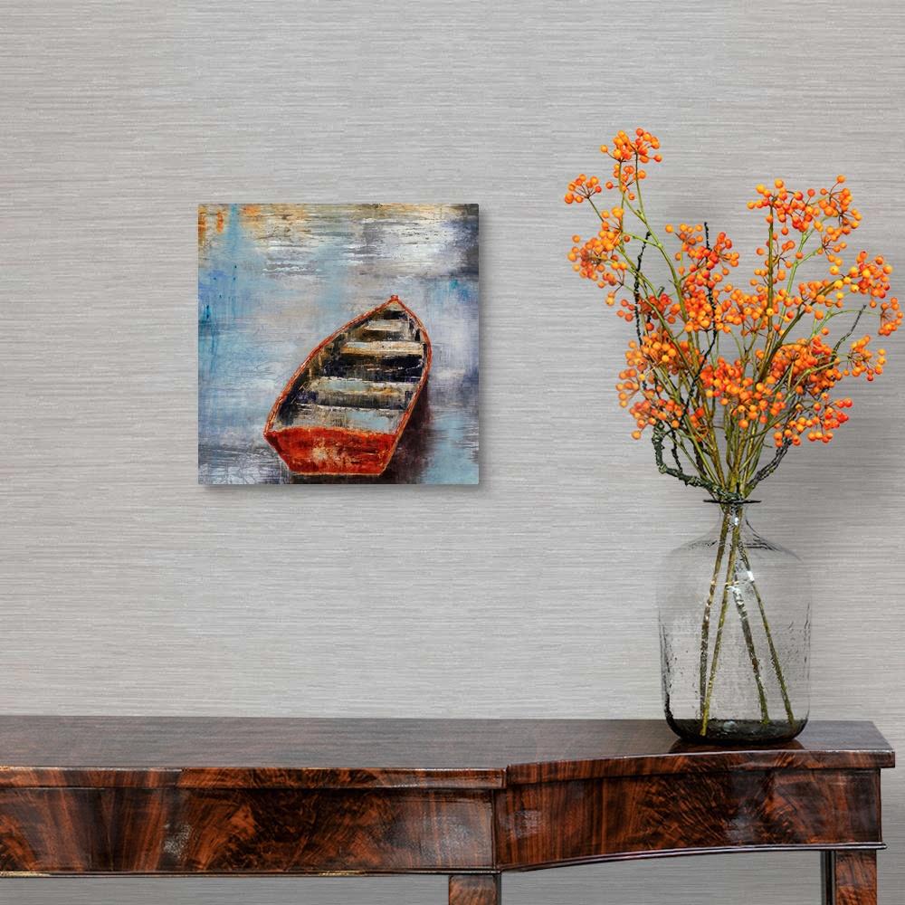 The-Row-Boat-Canvas-Art-Print thumbnail 5