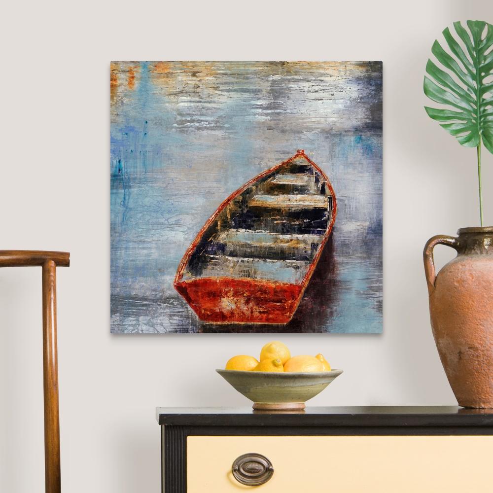 The-Row-Boat-Canvas-Art-Print thumbnail 7