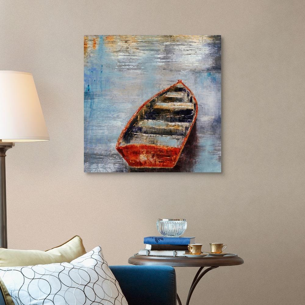 The-Row-Boat-Canvas-Art-Print thumbnail 8