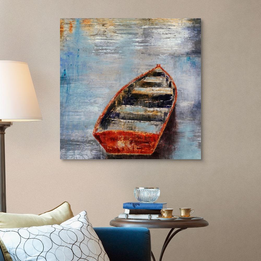The-Row-Boat-Canvas-Art-Print thumbnail 9