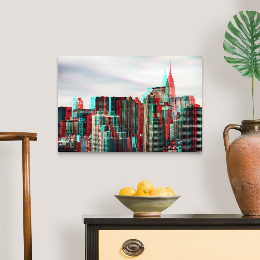 After-Twitch-Series-NY-Architecture-Canvas-Art-Print miniature 6