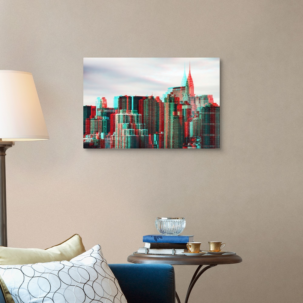 After-Twitch-Series-NY-Architecture-Canvas-Art-Print miniature 7