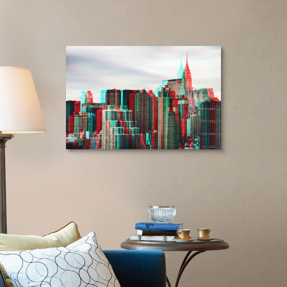 After-Twitch-Series-NY-Architecture-Canvas-Art-Print miniature 8