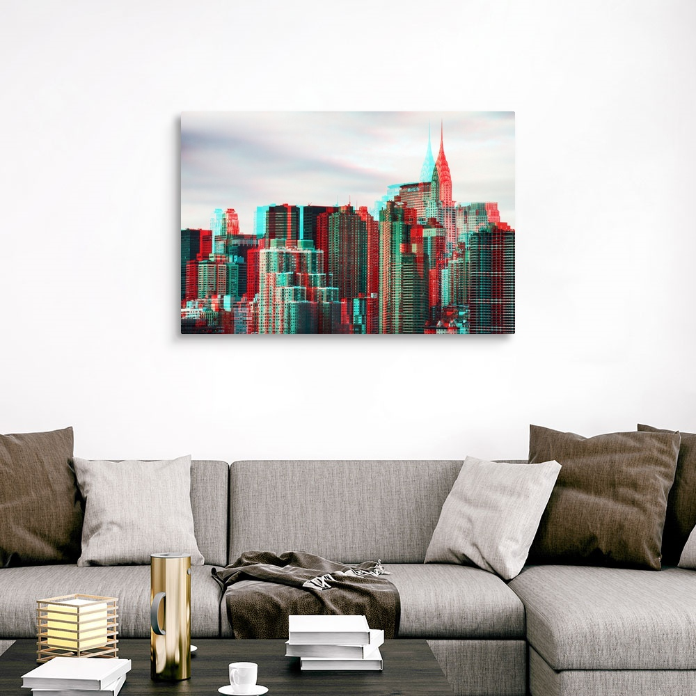 After-Twitch-Series-NY-Architecture-Canvas-Art-Print miniature 9