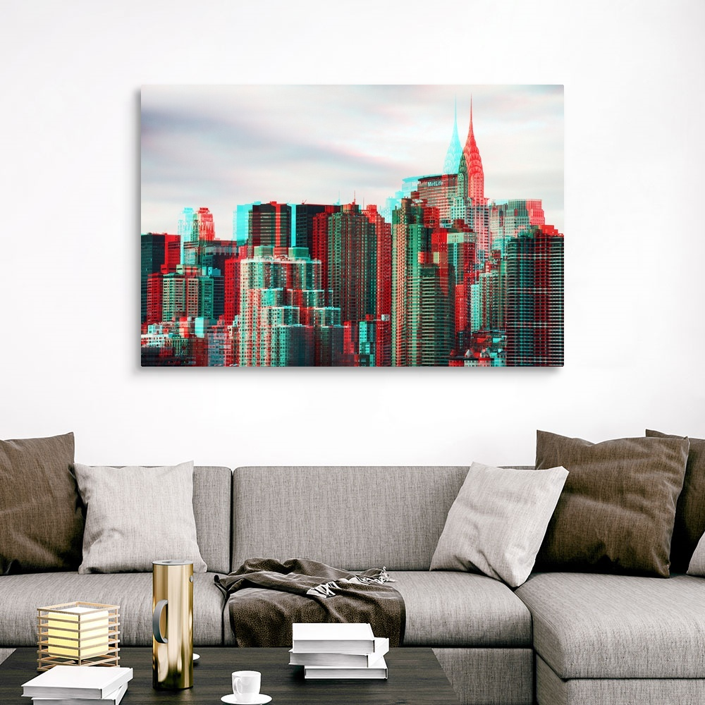 After-Twitch-Series-NY-Architecture-Canvas-Art-Print miniature 10