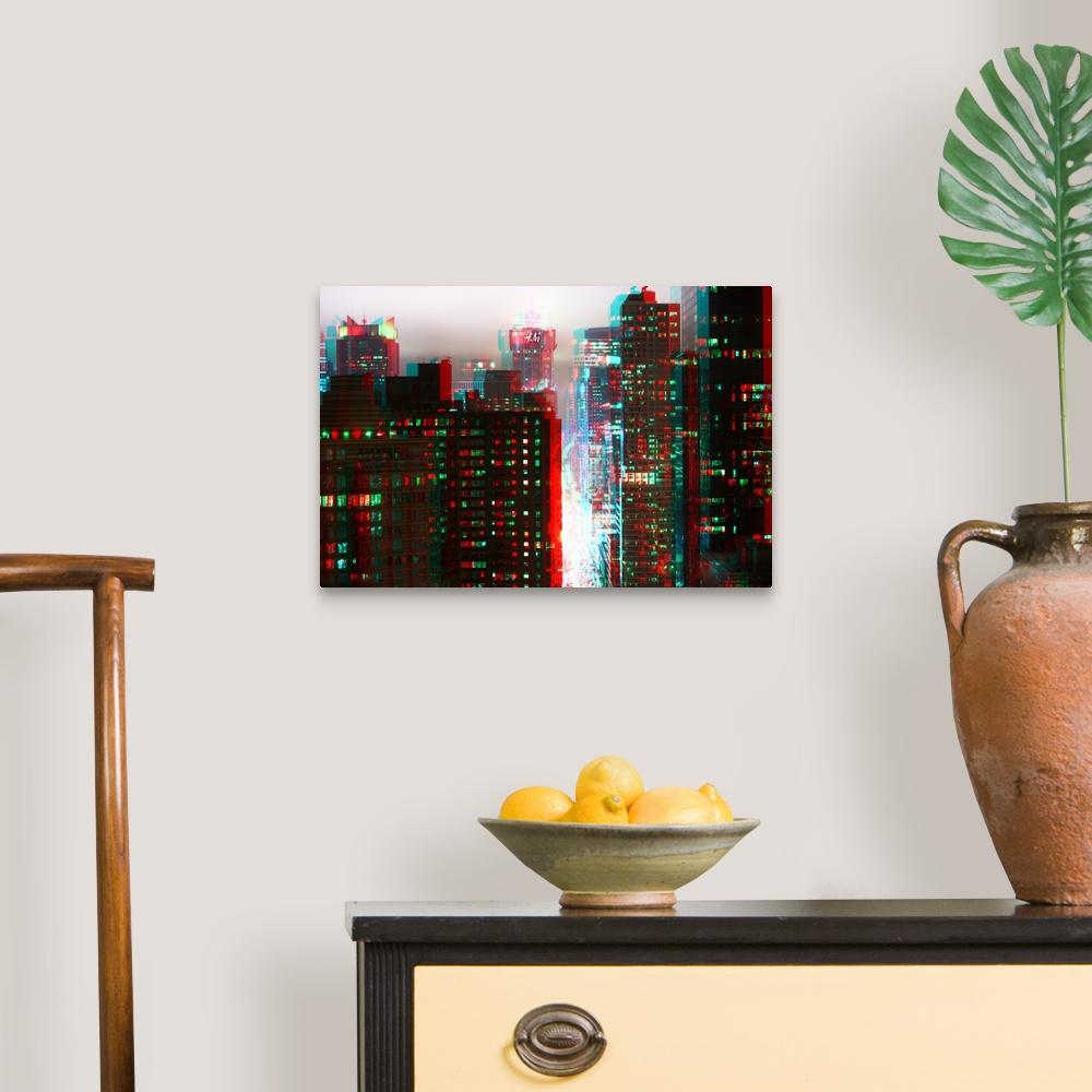 After-Twitch-Series-Manhattan-Structure-Canvas-Art-Print miniature 5