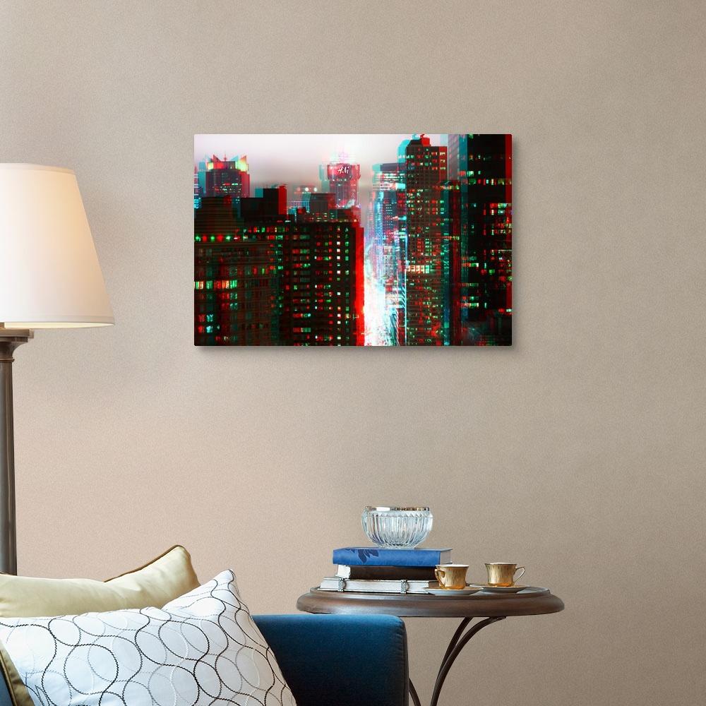 After-Twitch-Series-Manhattan-Structure-Canvas-Art-Print miniature 7