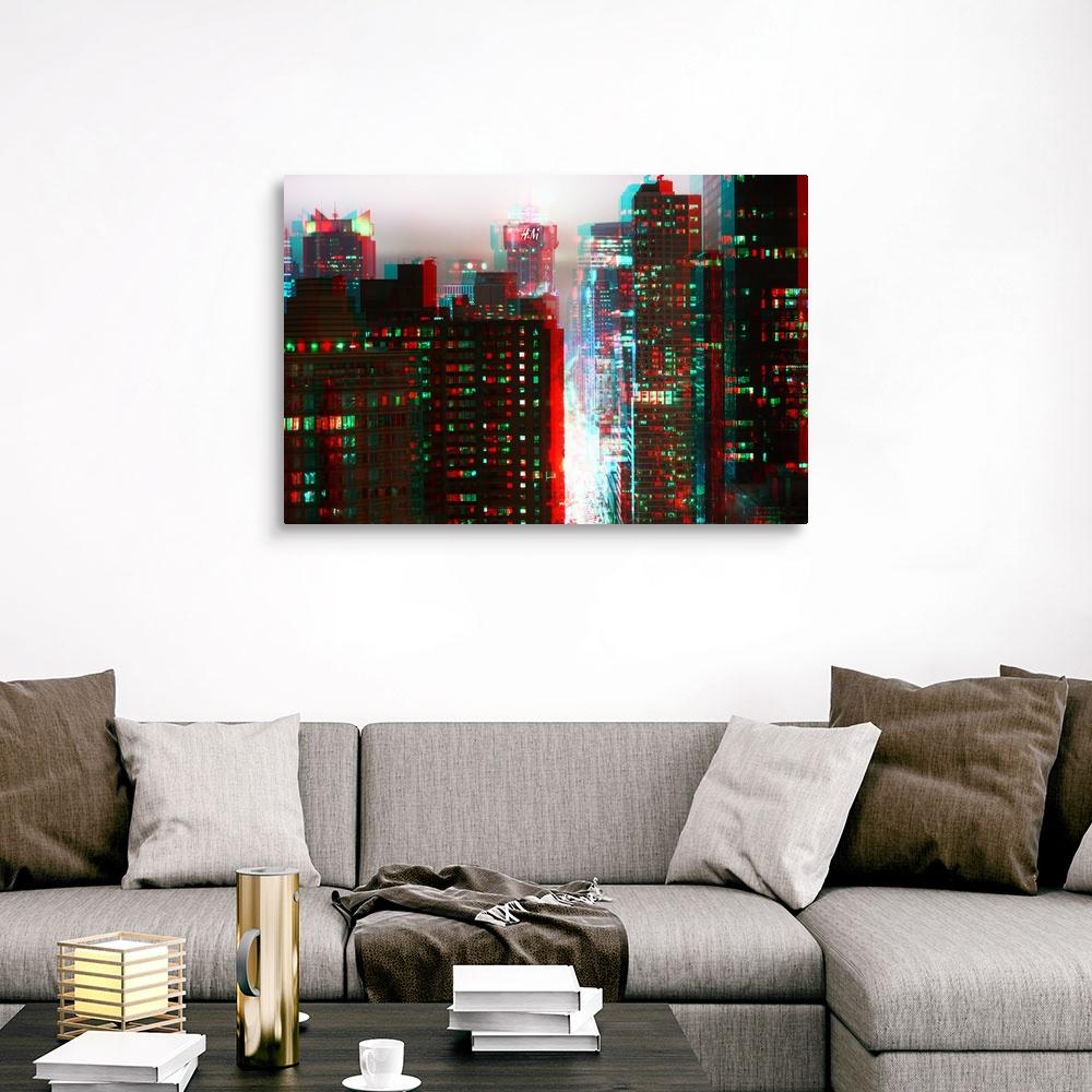 After-Twitch-Series-Manhattan-Structure-Canvas-Art-Print miniature 9