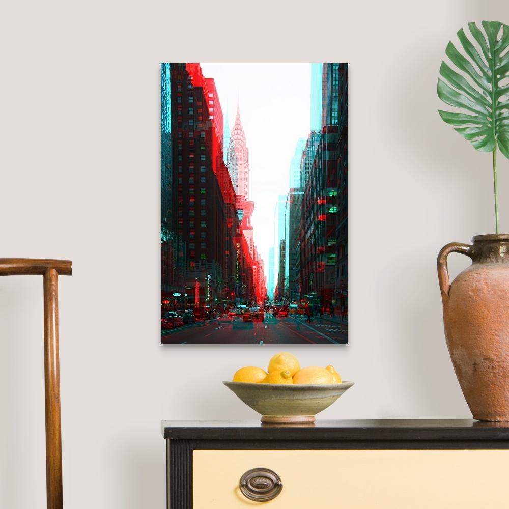 After-Twitch-Series-Manhattan-Traffic-Canvas-Art-Print miniature 6