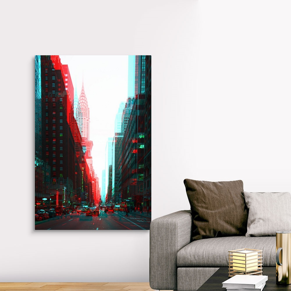 After-Twitch-Series-Manhattan-Traffic-Canvas-Art-Print miniature 10