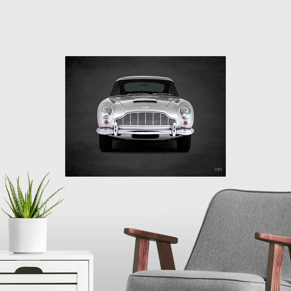Aston Martin DB5 1965 Poster Print