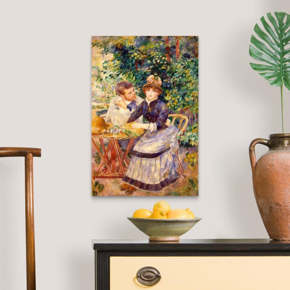 In-the-Garden-1885-Canvas-Art-Print miniature 6