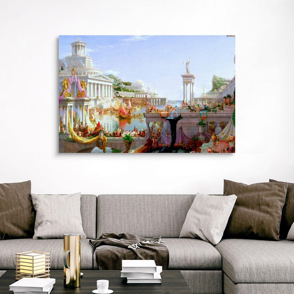The Course of Empire The Consummation Canvas Wall Art Print Home Decor
