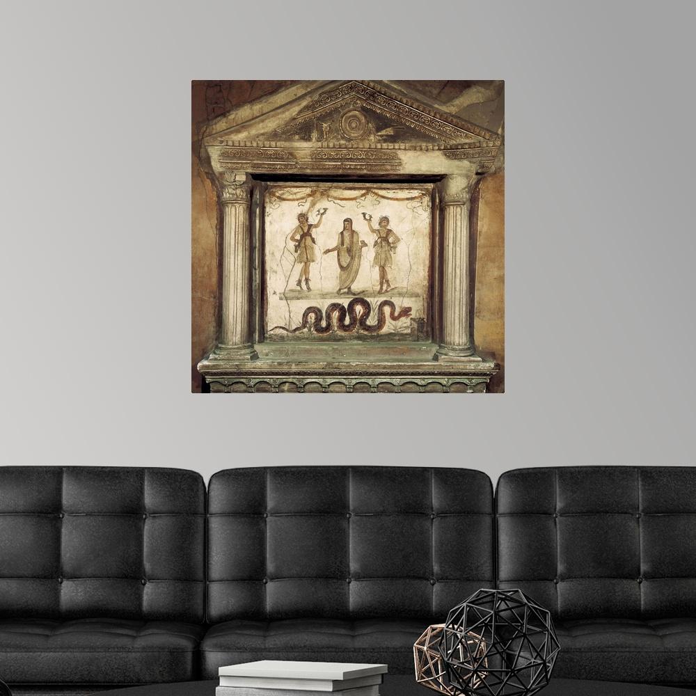 Home Decor Roman art Poster Art Print Household shrine